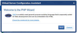 Welcome to the PHP Wizard